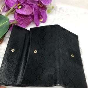 Gucci Bags - Authentic Preowned Gucci Black Wallet